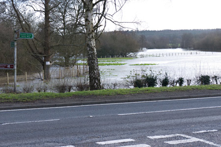 Flooding at Sheffield Park - John Sandys - 1 February 2014