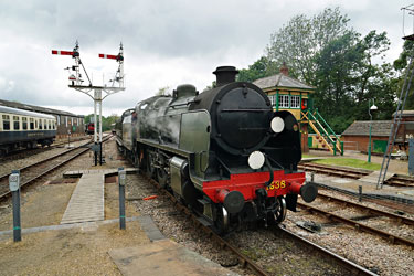 U-class arrives at Horsted - Brian Lacey - 29 May 2014