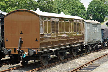 LBSCR Milk/Fruit Van No.270 - Brian Lacey - 21 June 2014