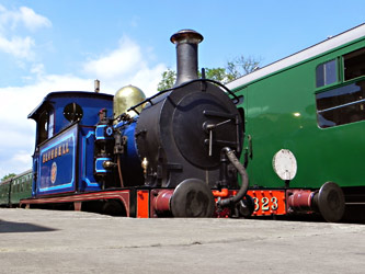 323 at Sheffield Park - Joseph Jameson - 21 June 2014