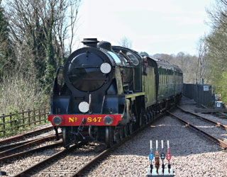 847 at East Grinstead - Brian Lacey - 1 April 2014