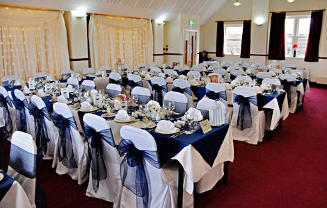Birch Grove Suite set out for the wedding reception - Derek Hayward - 5 April 2014