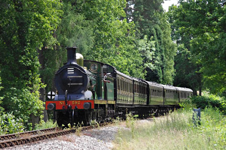 C-class with vintage coaches - Peter Austin - 22 June 2014