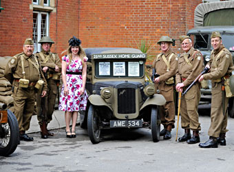 Home Guard at Horsted Keynes - Derek Hayward - 10 May 2014