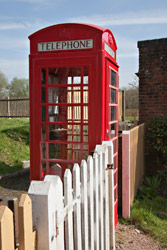 Phone Box at Kingscote - John Sandys - 10 April 2014