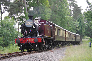 L.150 with the lunchtime Pullman train - Peter Austin - 22 June 2014