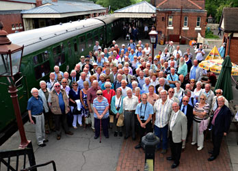 Old Southeronians at Sheffield Park - John and May Goss - 11 June 2014