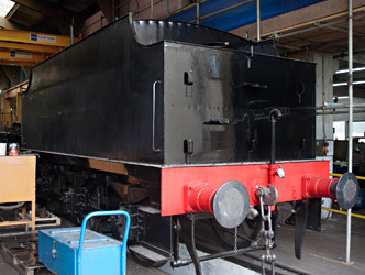 Q-class tender in loco works - John Sandys - 2 June 2014