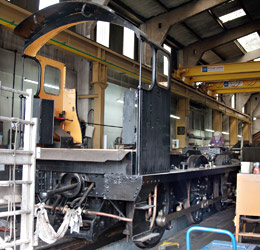 Q-class in loco works - John Sandys - 2 June 2014