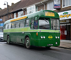 Green Line liveried RF 28 - Andrew Crampton - 6 April 2014