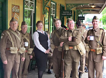 Refreshment at Horsted Keynes - John Sandys - 10 May 2014