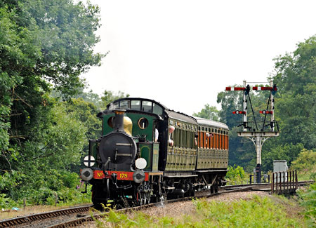 178 with relief service at Poleay Bridge - Derek Hayward - 12 July 2014