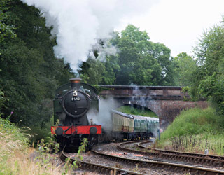 5643 at Leamland Bridge - Chris Beaumont - 6 July 2014