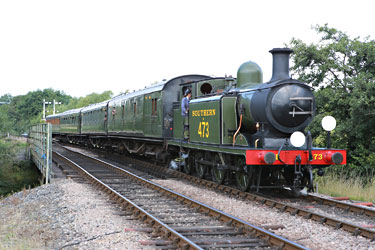 B473 has returned to action - Alan Jenkins - 7 August 2014
