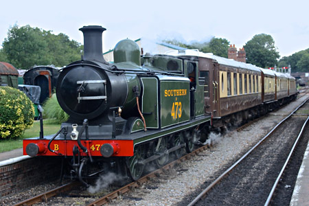 B473 with Pullmans - Steve Lee - 17 August 2014
