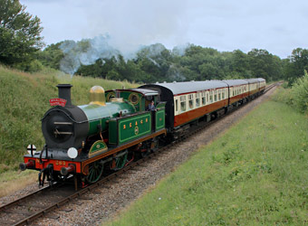 H-class with the Wealden Rambler - Steve Lee - 5 July 2014
