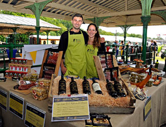 Iberica delights stall at Horsted Keynes - Derek Hayward - 5 July 2014