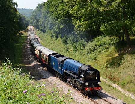 Tornado approaches Imberhorne Lane Bridge - John Goss - 30 July 2014