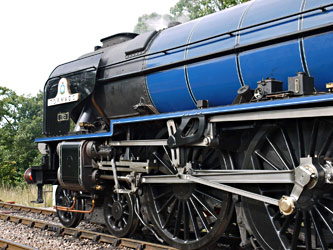 Tornado at Sheffield Park - Simon Jeffs/Laurel Arnison - 2 August 2014
