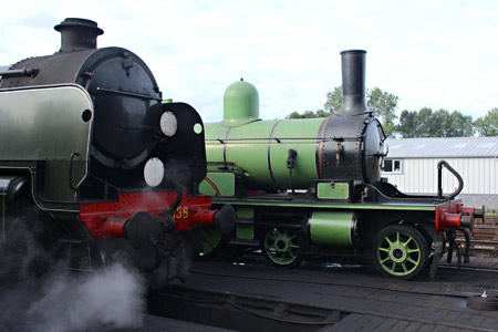 U-class and Adams Radial Tank at Sheffield Park - Steve Lee - 30 August 2014