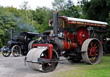 Steam engines gathered for Vintage Transport Weekend - Derek Hayward - 9 August 2014