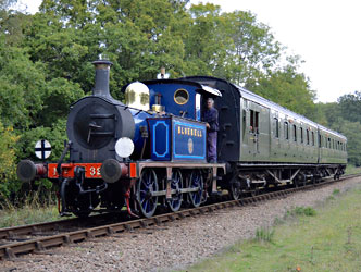 323 on Autumn Tints service at Black Hut - Steve Lee - 2 Oct 2014