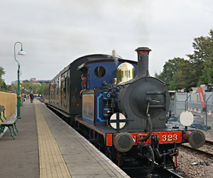 Bluebell on Autumn Tints service at East Grinstead - Brian Lacey - 2 Oct 2014