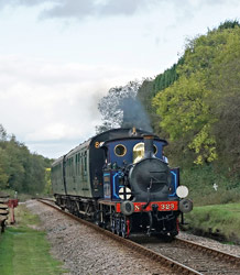 323 with Autumn Tints Special at West Hoathly - Brian Lacey - 20 Oct 2014