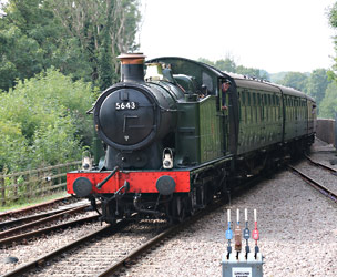 5643 arrives at East Grinstead - Brian Lacey - 15 Sept 2014