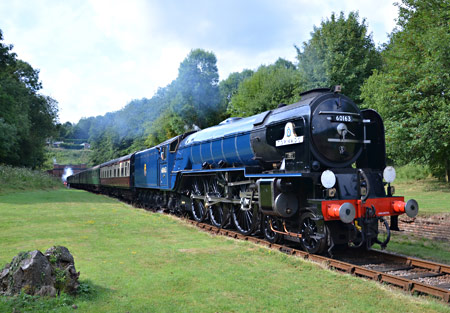 Tornado at Sharpthorne Tunnel - Andrew Crampton - 3 August 2014