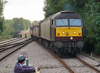 Railtour leaves the Bluebell at East Grinstead - Brian Lacey - 2 Oct 2014