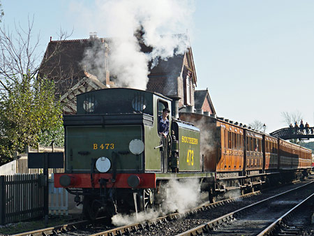 B473 at Sheffield Park - Brian Lacey - 27 October 2014