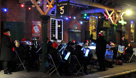 Bluebell Railway Band - David Chapman - 6 December 2014