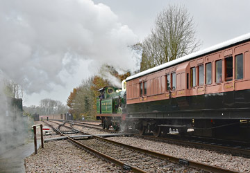 H-class and LSWR 1520 at East Grinstead - Brian Lacey - 30 November 2014