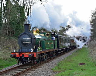 H-class at West Hoathly - Brian Lacey - 8 December 2014