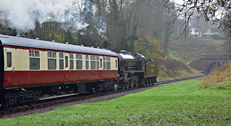 S15 and 16012 at West Hoathly - Brian Lacey - 30 November 2014