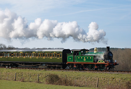 263 approaches Horsted Keynes - Keith Leppard - 8 February 2015