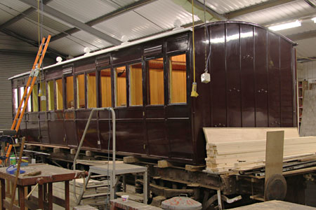 SECR Carriage 3188 under restoration - Dave Clarke - 18 January 2015