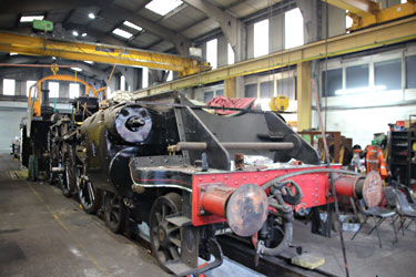 73082 Camelot in Loco Works - Tony Sullivan - 1 January 2015
