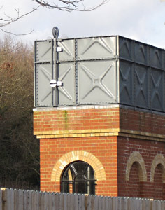 Water level gauge at East Grinstead - Mike Hopps - February 2015