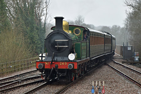 H-class arrives at East Grinstead - Brian Lacey - 28 February 2015