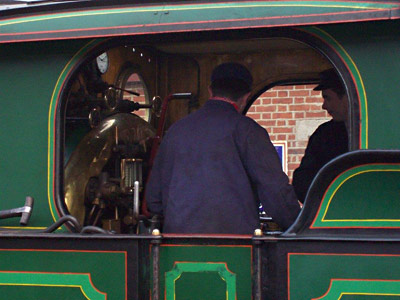 Loco crew on the H-class - Kevin McElhone - 10 January 2015