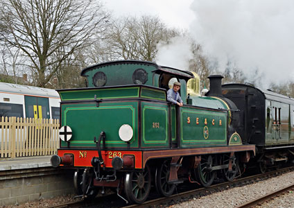 H-class ready to leave East Grinstead - Brian Lacey - 18 February 2015