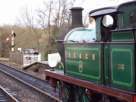 H-class at Sheffield Park - Kevin McElhone - 10 January 2015