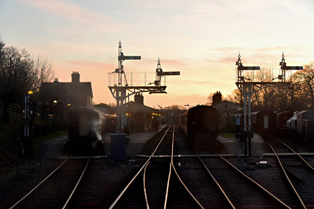 Sunset over Horsted Keynes - Brian Lacey - 2 January 2015