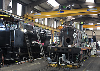 Maunsell Q and Wainwright C in Loco Works - Tony Sullivan - 1 January 2015