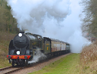 S15 at West Hoathly - Steve Lee - 1 January 2015