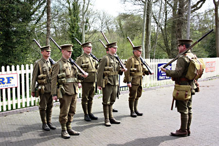 10th Essex on parade - Clive Emsley - 25 April 2015
