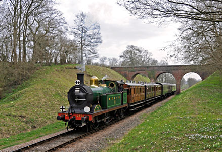 H-class at 3 Arch Bridge - Derek Hayward - 10 April 2015