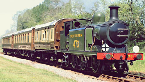 B473 on special Pullman charter - David Long - 21 April 2015